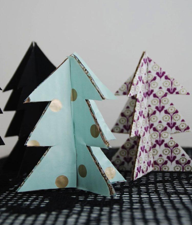 decorare casa per Natale con il cartone