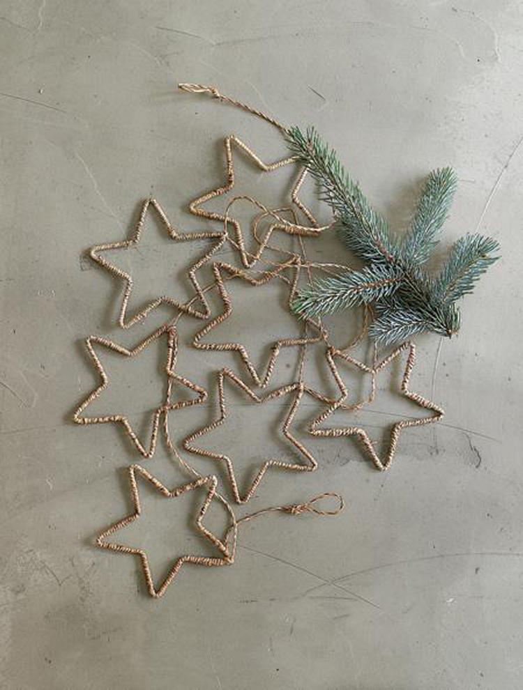 decorare casa per Natale con il ferro