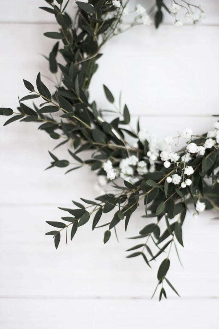 decorare casa per Natale con le piante