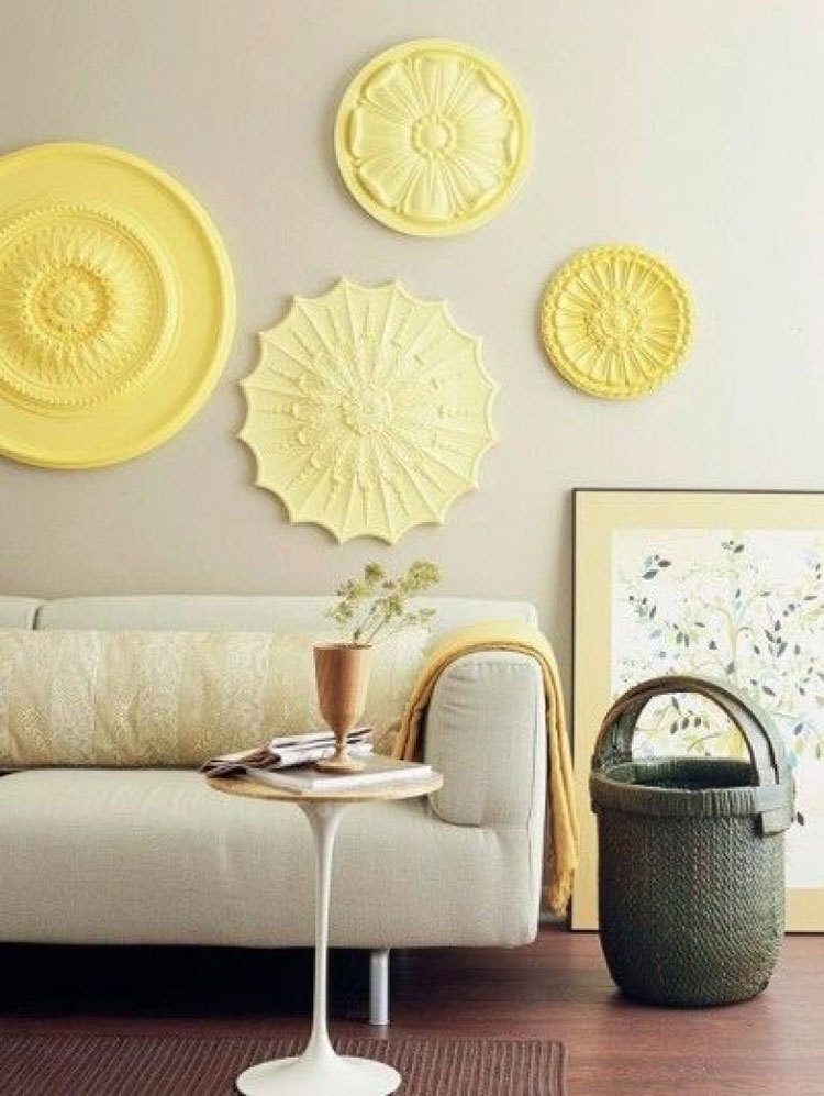 5 idee creative per decorare le pareti inspire we trust - Stampi per decorare pareti ...