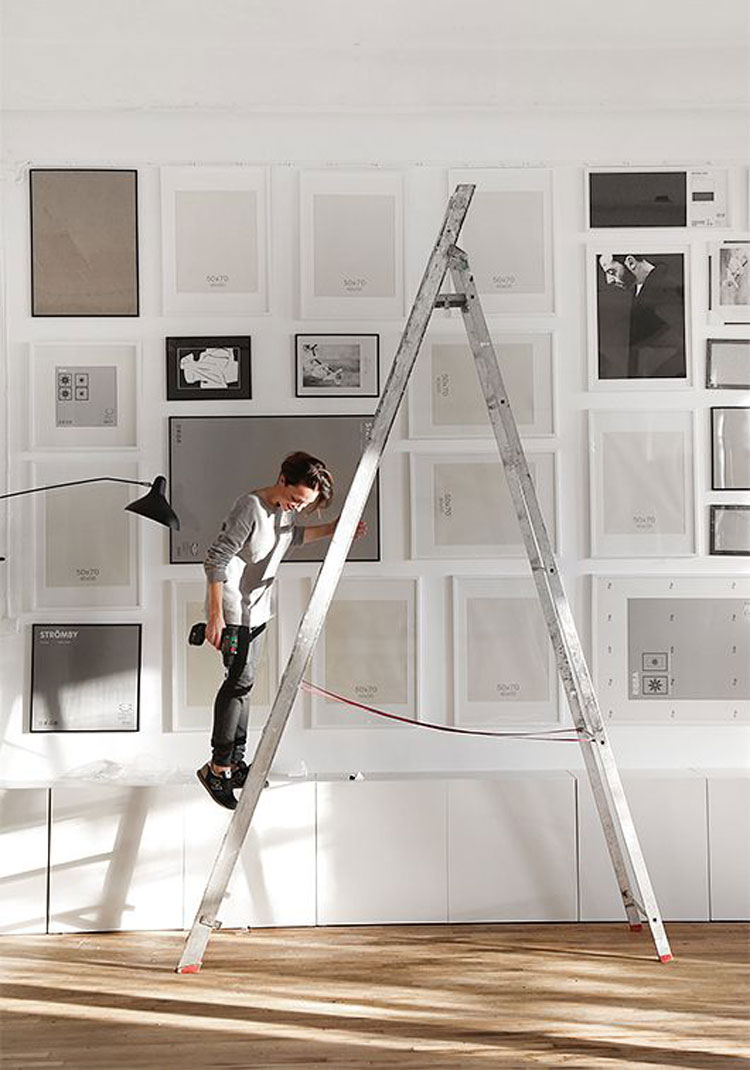 Come arredare le pareti con i quadri