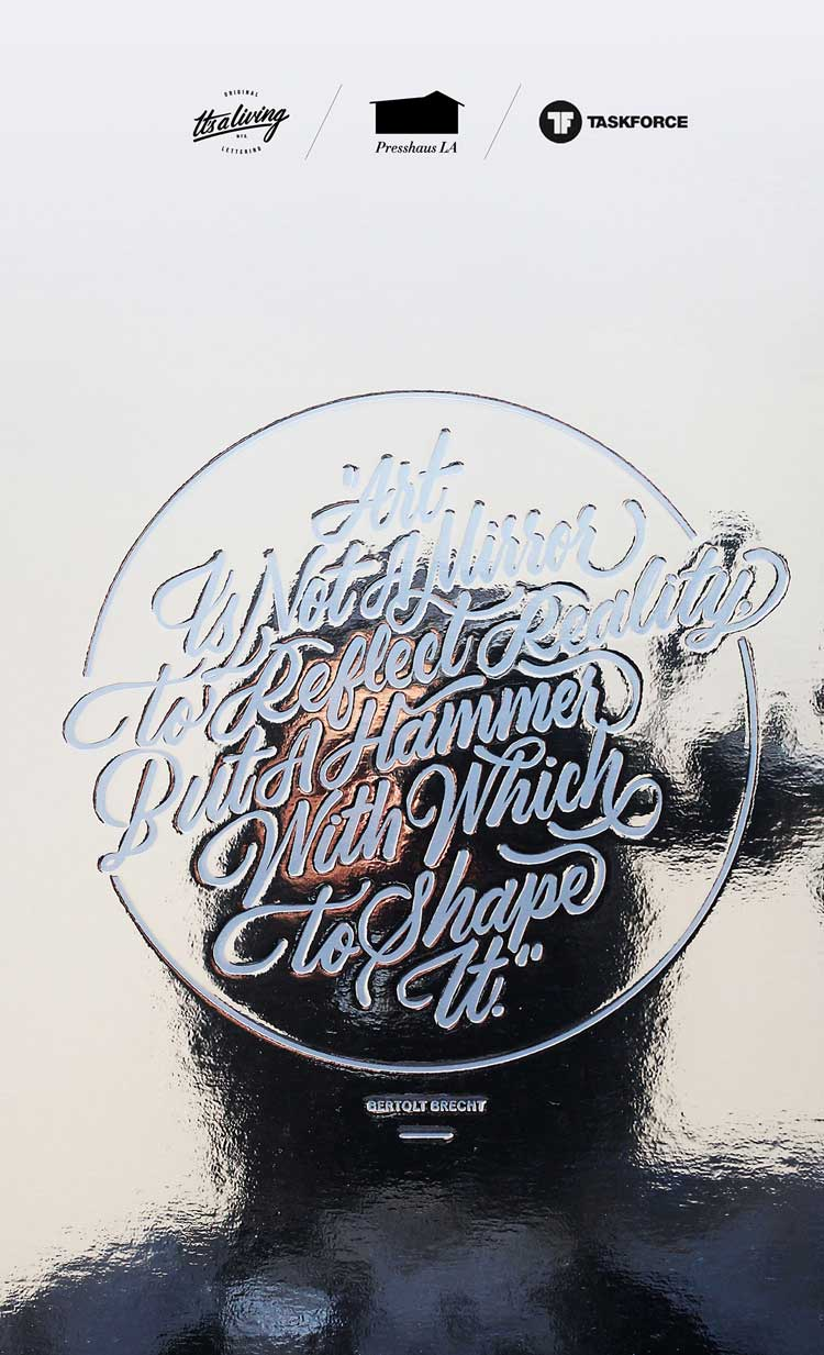 Typographic Quotes: Something To Believe In #51