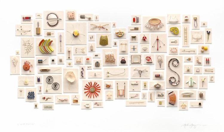 Le sculture di carta di Cybèle Young