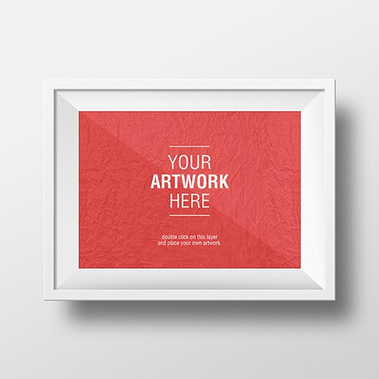 3 Artwork Frame PSD MockUps