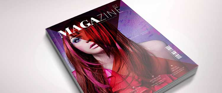 free indesign template fashion magazine