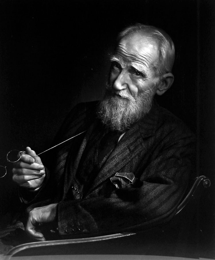 George Bernard Shaw by Yousuf Karsh