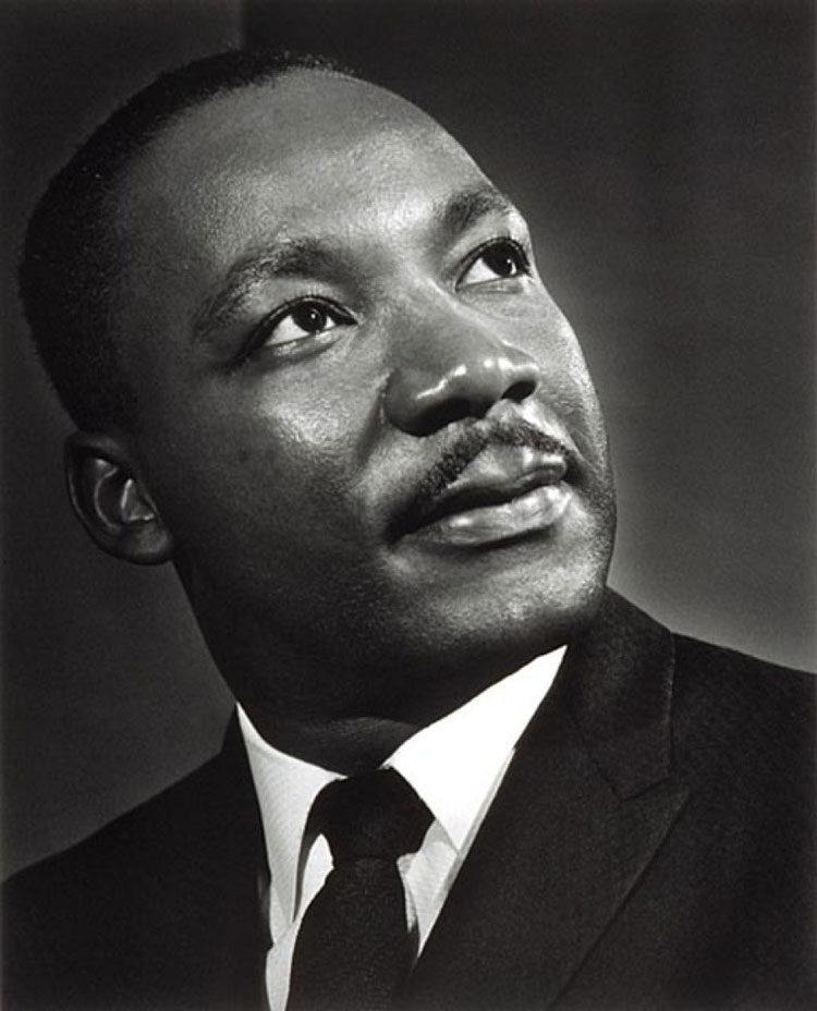 Martin Luther King by Yousuf Karsh