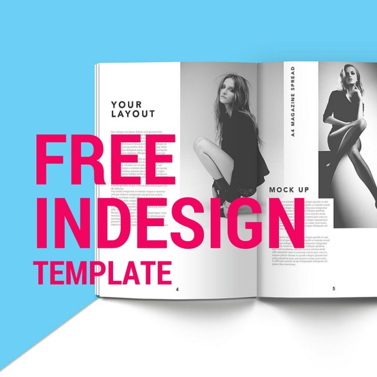 Free InDesign Templates to learn and improve | IWT