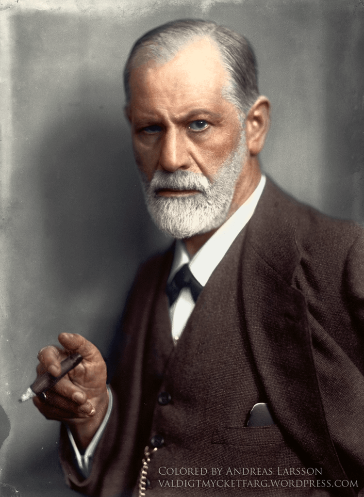 Colorized History - Sigmund Freud