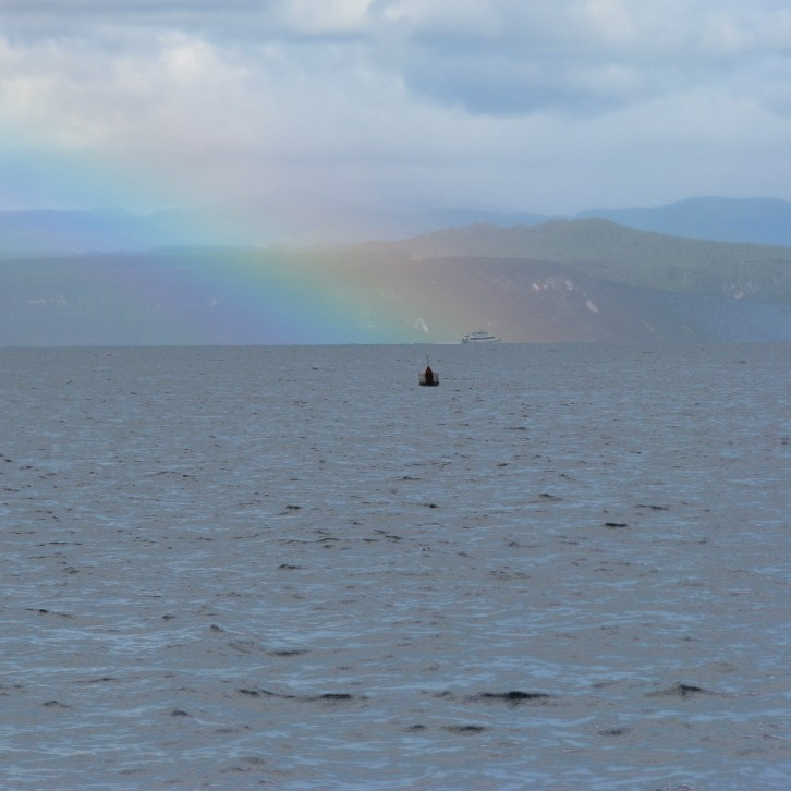 23 - Boat in a Rainbow