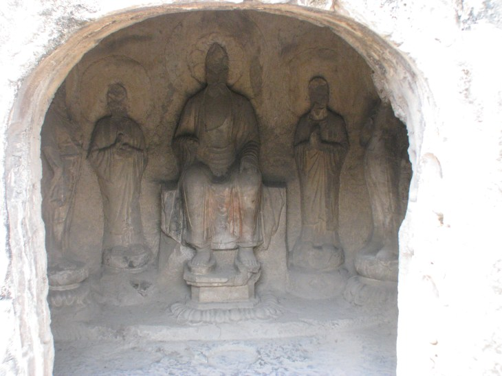 1000's of statues are enveloped in their own caves Longman Grottos China.