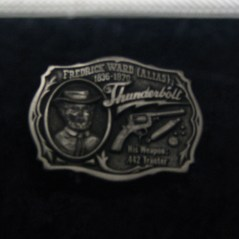 14 - Thundebolt Belt Buckle