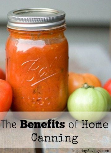 With the rising cost of food, everyone is looking for alternative ways to save money on healthy foods. One of my favorite things to do is home canning. Get started to learnHow to can, what equipment you need, and a big list of common canning resources! See the benefits of home food Canning and Preserving. #canning #perservingfood #homestead