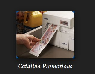 Catalina Coupons printing at Register