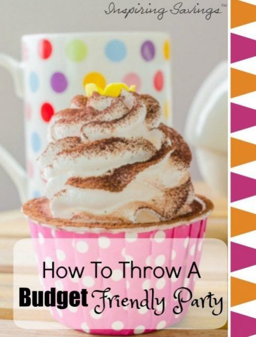 These tips are great and will save you so much money if you're planning a party anytime soon! Click through to find out how to plan effectively and throw a budget friendly party that people won't know didn't cost a fortune to host!These 10 frugal tips will help you save money and give you ideas on how to cut costs. #party #budget