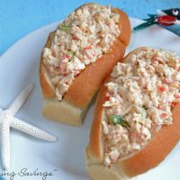 Fake Crab Seafood Salad Recipe For Sandwiches