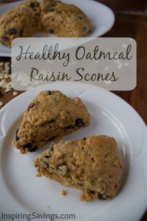 These tender scones are really easy to make, and their flavor reminds me of oatmeal raisin cookies! Skip the donuts and danishes, start the morning on a healthier note. Make these Healthy Oatmeal Raisin Scones for breakfast.