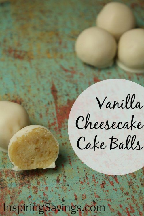 These deliciously creamy No-bake vanillaCheesecake pops are SO tasty. Great for any occasion and freezable until ready to serve. #cakepops #cheesecake #whitechocolate