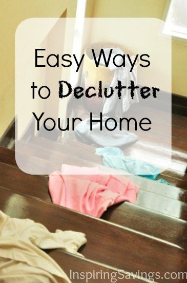 Is clutter taking over your life? You need these practical tips to declutter your home and keep it organized for good! Simplify your home and feel free from the mess. These easy ways to declutter your home will make you feel organized.