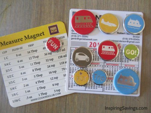 puffy stickers on magnets