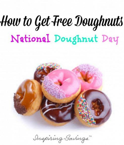 """Every year, the first Friday in June is celebrated as National Doughnut Day—though lots of people refer to it by a different name: """"Free Doughnut Day. See where you can pick up a free sweet treat."""