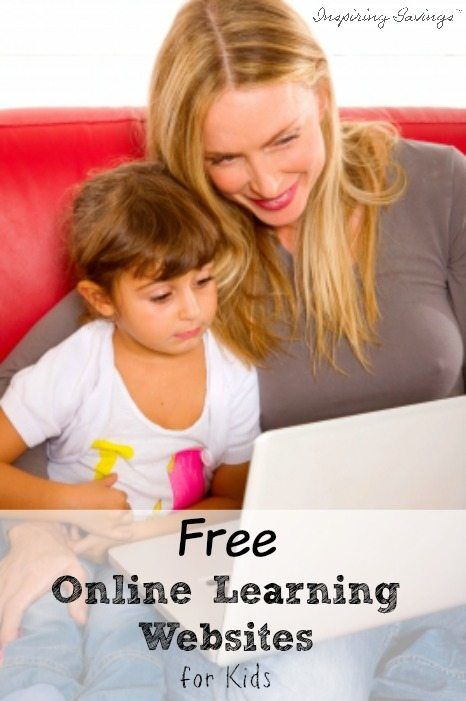 Mother sitting with daughter on couch with laptop looking at free online learning websites