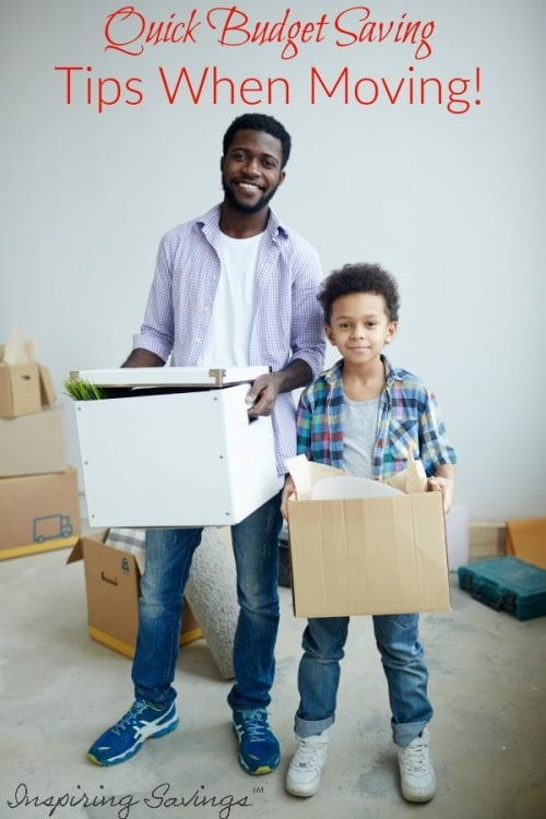 Saving money can be tough when you have a super tight budget. Here are some quick budget saving tips when moving that everyone Needs to Know. Moving Tips for simplifying a move and keep you organized.