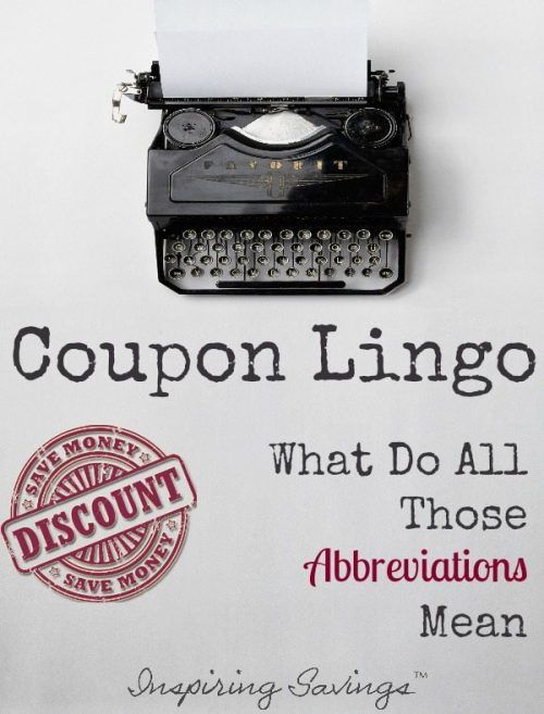 Confused by all thelingoused oncoupon websites? When you're first learning the ropes of using coupons, it can seem like you're learning a foreign language. Learn the Coupon Lingo and the language used in couponing