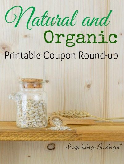 picture relating to Organic Coupons Printable referred to as Organic Organic and natural Discount coupons - Totally free Printable Cost savings