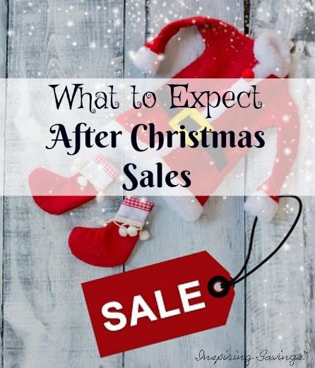 Christmas items that will be on sale after Christmas