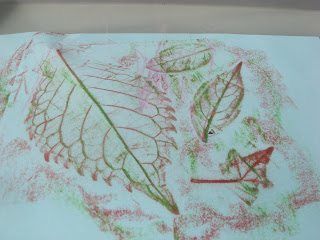 Leaf Rubbing and Other Outdoor Fun