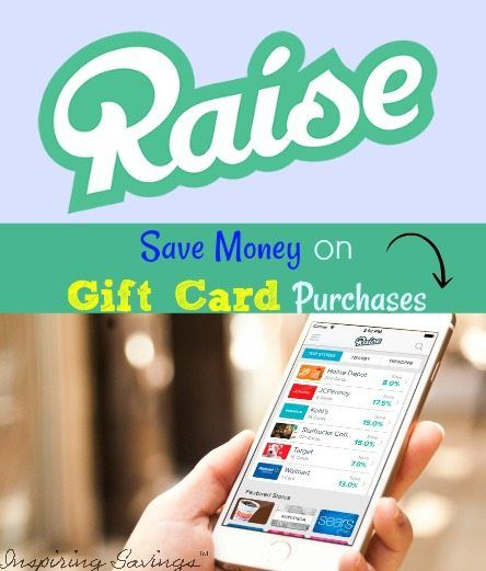 "One of the best ways you can save money when you shop is to purchase discounted gift cards. See why you should be using ""Raise"" Smartphone gift card app."