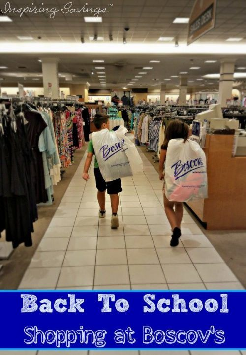 Back-to-school is the second-biggest shopping season. This year save the hassle and get Big Savings for Back to School by Shopping at Boscov's.