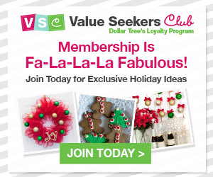 Value seekers club from Dollar Tree