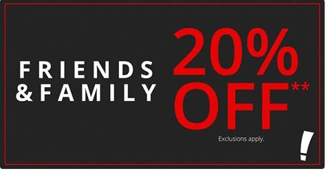 Big Lots 20 Off Friends Family Event Reward Members