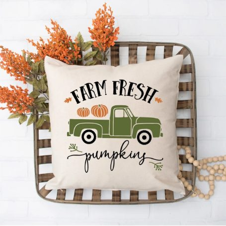 Fall Decorative Pillow Cover