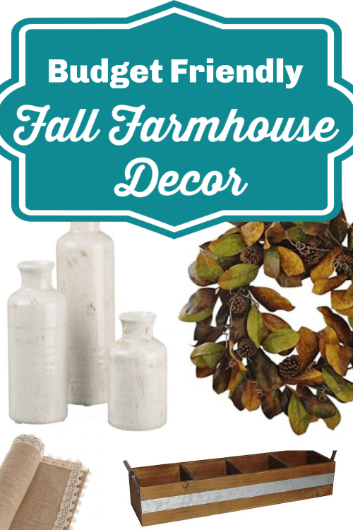 Budget Friendly Fall Farmhouse Decor