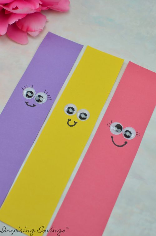 Adding Faces to paper construction strips
