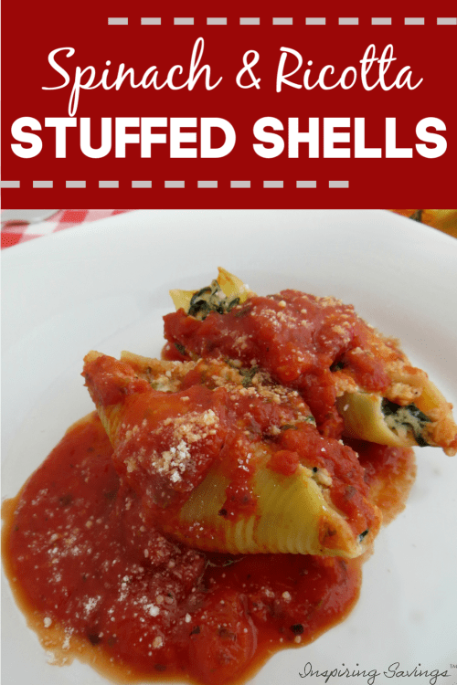 Spinach & Ricotta Stuffed Shells