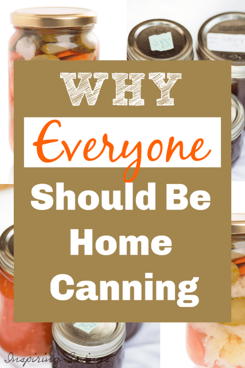 why everyone should be canning