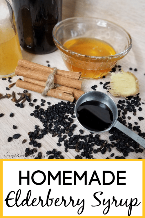 Homemade Elderberry Syrup is a natural anti-viral and remedy to the common cold and flu and is a cinch to make at home using only a handful of ingredients and saves you a lot of money.