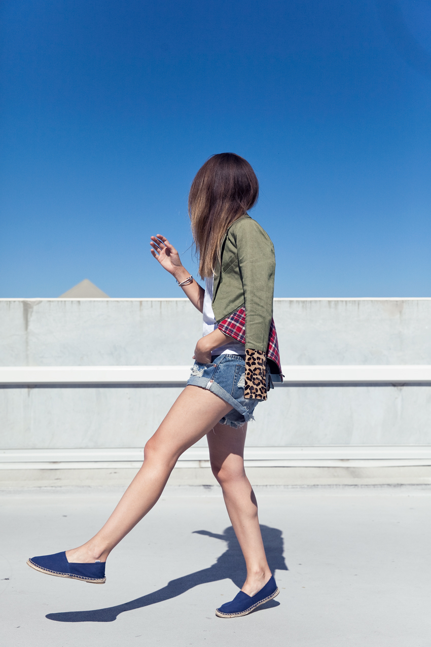 Jenelle Witty of Perth fashion blog Inspiring Wit wearing Ksubi and One Teaspoon, A'Ok espadrilles