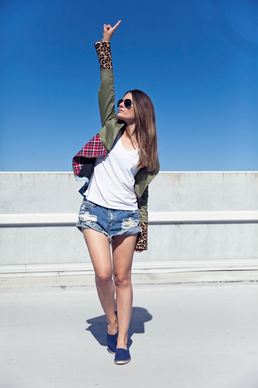 Jenelle Witty of Perth fashion blog Inspiring Wit wearing Ksubi and One Teaspoon