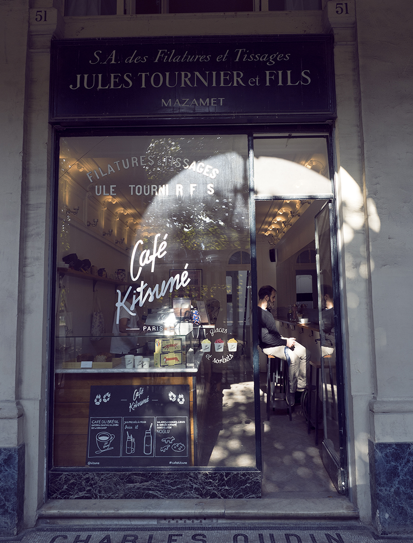 Cafe Kitsune Paris travel blogger Inspiring Wit