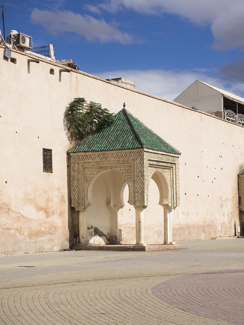 Meknes wall