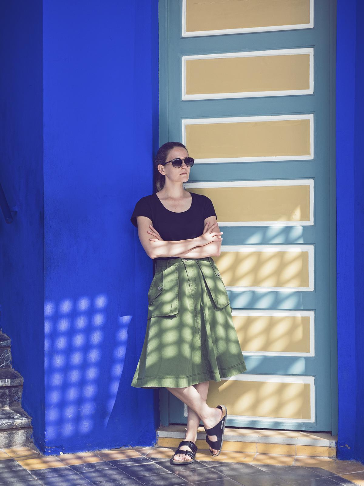 Morocco travel diary Inspiring Wit yves saint laurent jardin majorelle cacti