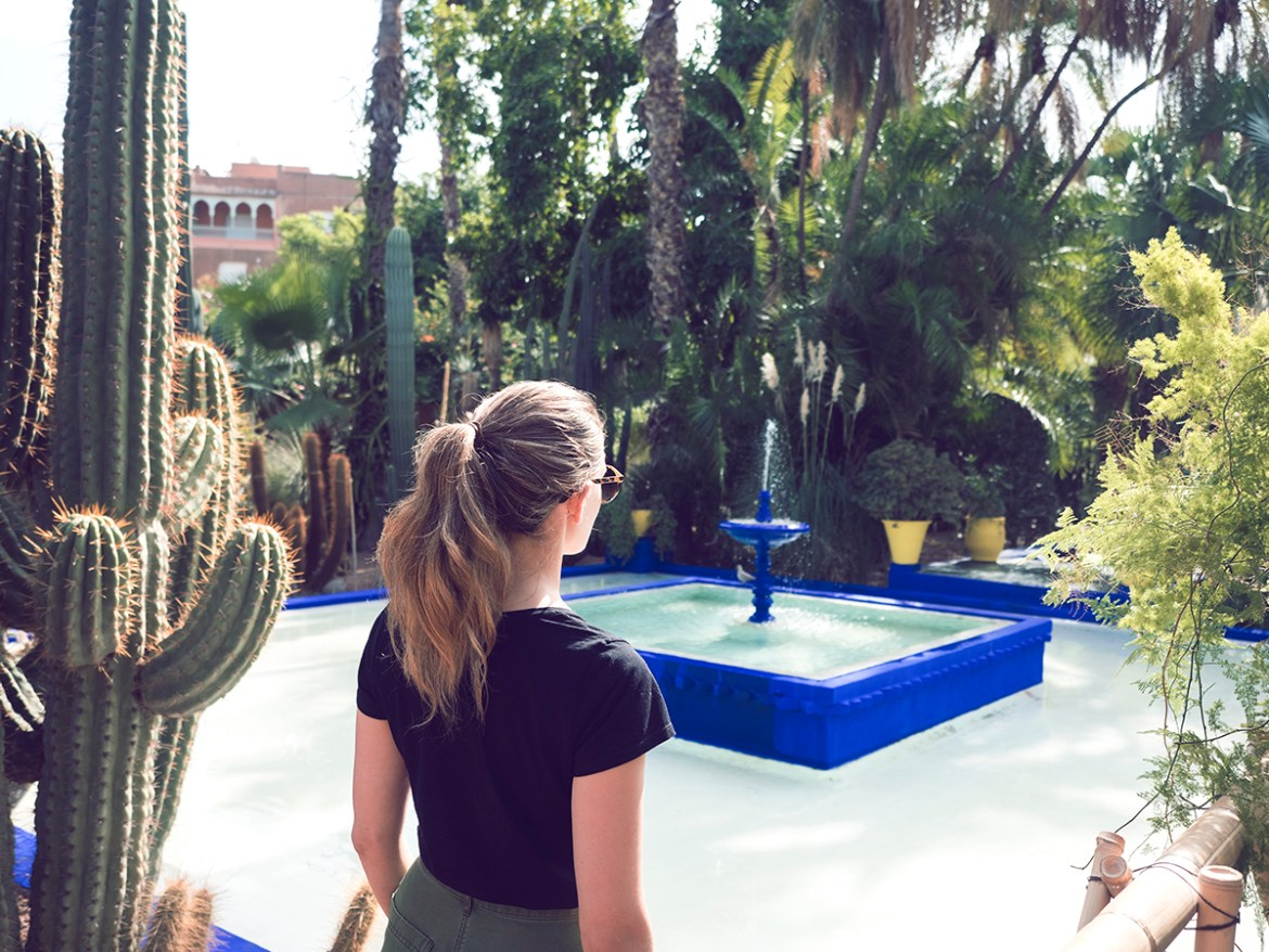 Morocco travel diary Marrakech walking tour, jardin Majorelle, Inspiring Wit, Australian lifestyle and travel blog