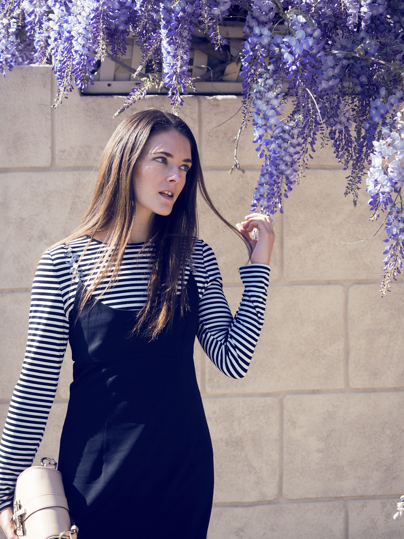 layering the slip dress with fashion blogger Jenelle of Inspiring Wit