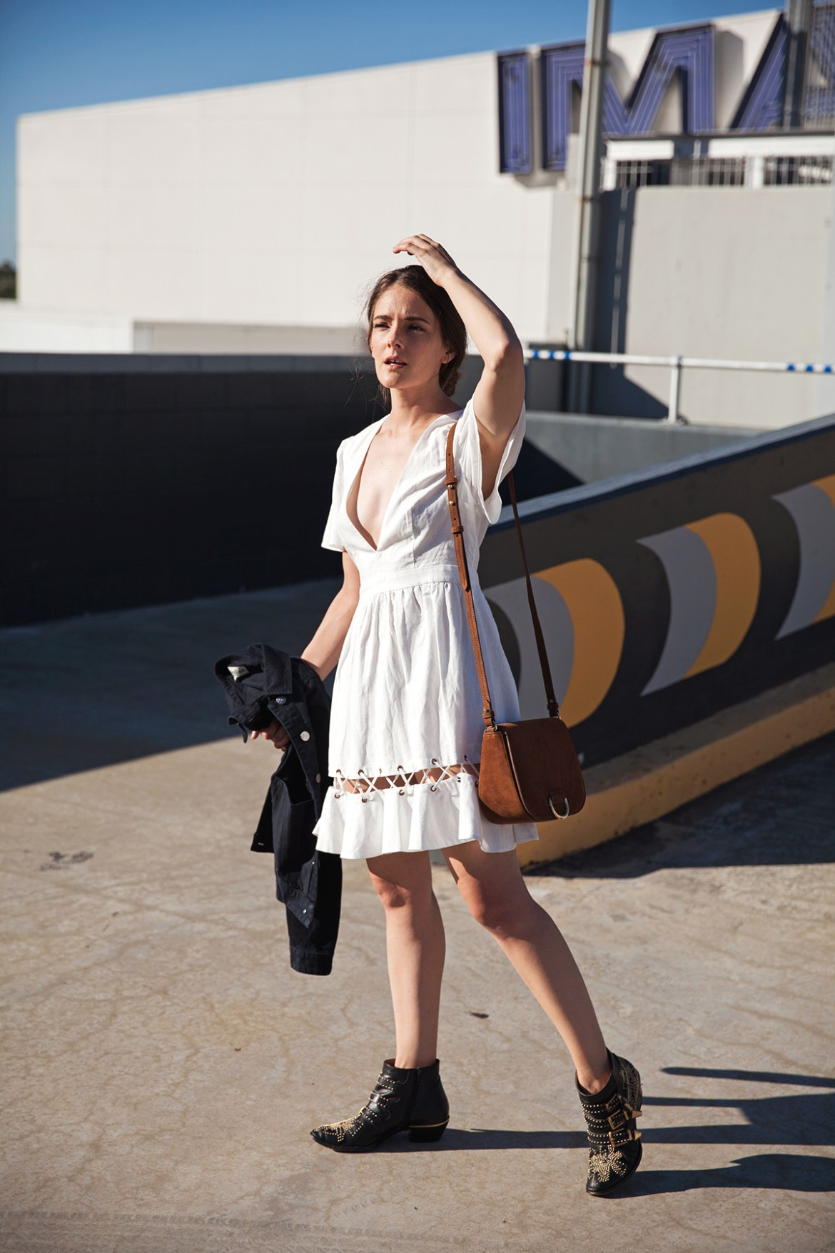 The white summer dress how to style, Inspiring Wit, Australian fashion blogger