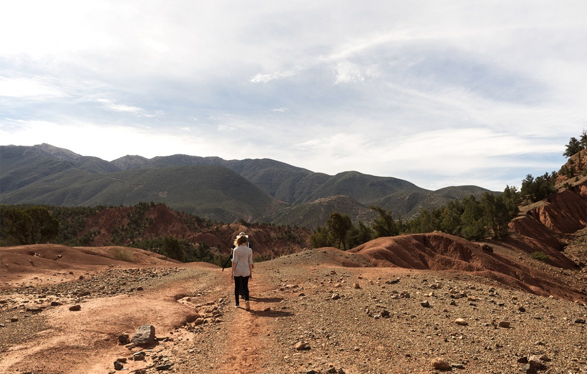 Morocco travel diary in the Atlas Mountains with Inspiring Wit travel blogger hike